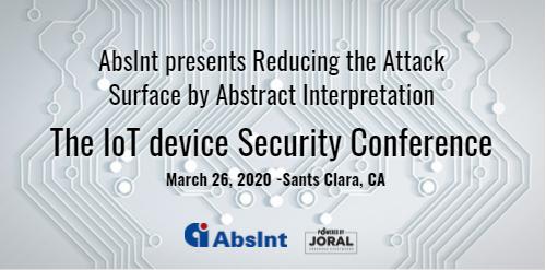 Joral - AbsInt event - March 26, 2020
