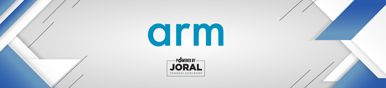 ARM banner on Joral Technologies website